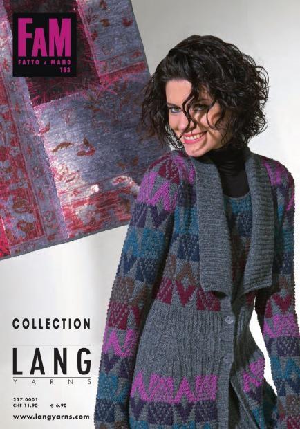 Lang Yarns Fatto a Mano FAM 251 Collection Strickheft mit Strickanleitungen